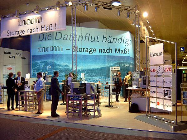 Taming the flood of data - INCOM CeBIT booth