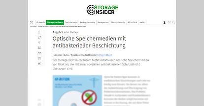 storage-insider.de vom 19.10.20
