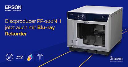 Discproducer PP-100N II jetzt auch mit Blu-ray Rekorder