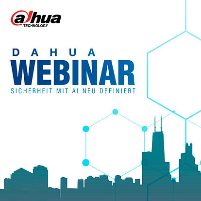 Dahua Webinar Programm
