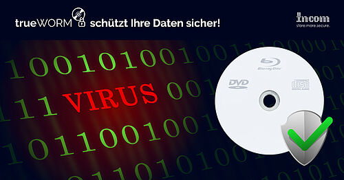trueWORM schützt Ihre Daten sicher