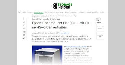 storage-insider.de vom 21.09.2021