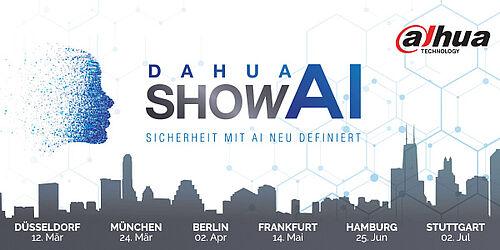 Dahua Roadshow - Sicherheit mit KI neu definiert
