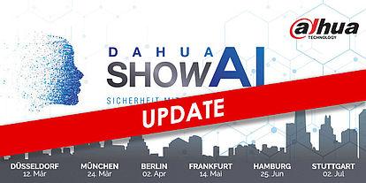 Update zur Dahua Roadshow