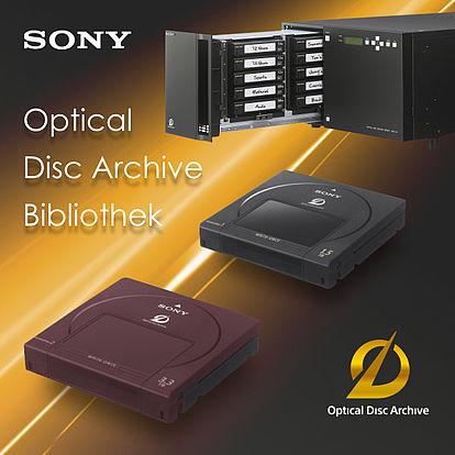 Sony Optical Archive Disc Bibliothek