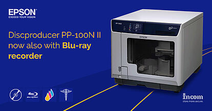 Discproducer PP-100N II now also with Blu-ray recorder