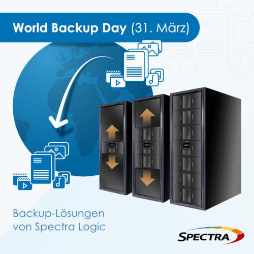 World Backup Day - Backup-Lösungen von Spectra Logic