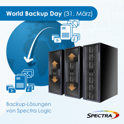 World Backup Day - Backup-Lösungen von Spectra Logic