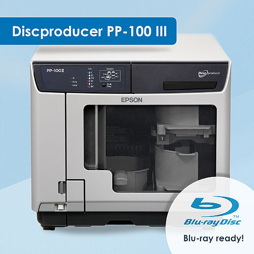 Epson Discproducer III - Blu-ray ready