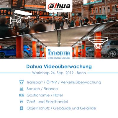 Dahua Workshop bei INCOM - September