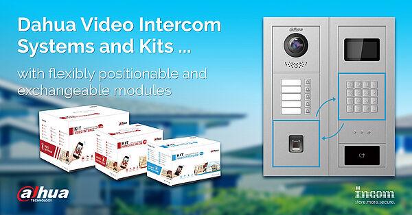 Dahua Video Intercom Systems and Kits