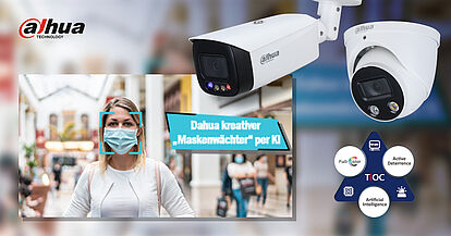 Dahua cameras rely on integrated AI