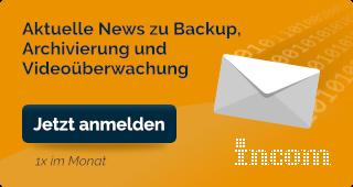 Aktuelle News zu Backup, Archivierung und Videoüberwachung