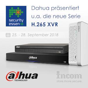 INCOM mit Dahua auf der Security in Essen