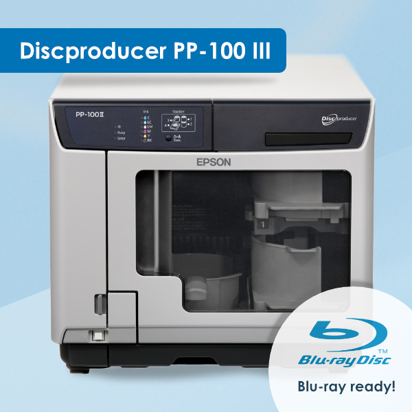Epson Discproducer III - Blu-ray ready
