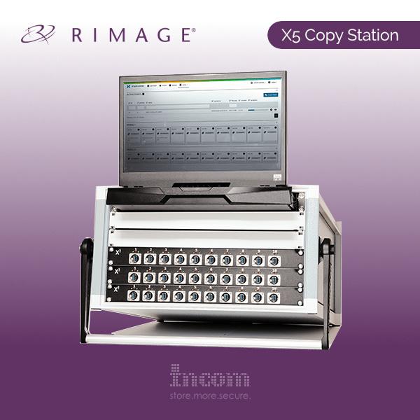Rimage X5 Flash-Speicher Kopiersystem