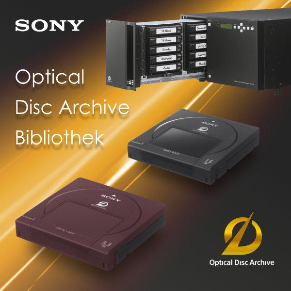 Sony Optical Disc Archive Bibliothek